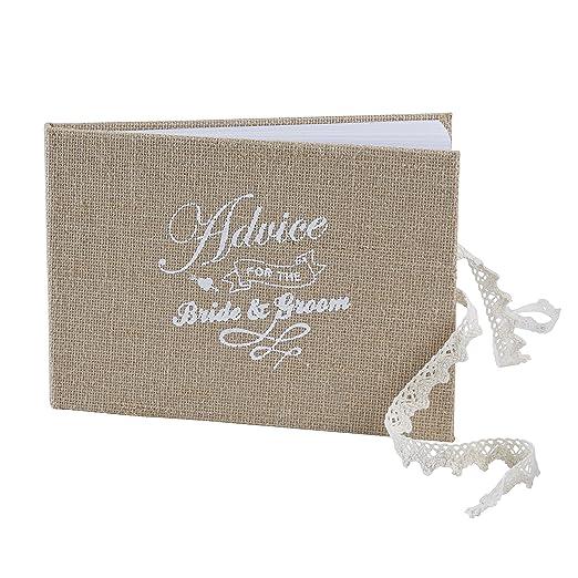 1 opinioni per Ginger Ray Vintage Affair sposa & sposo consigli libro degli ospiti per