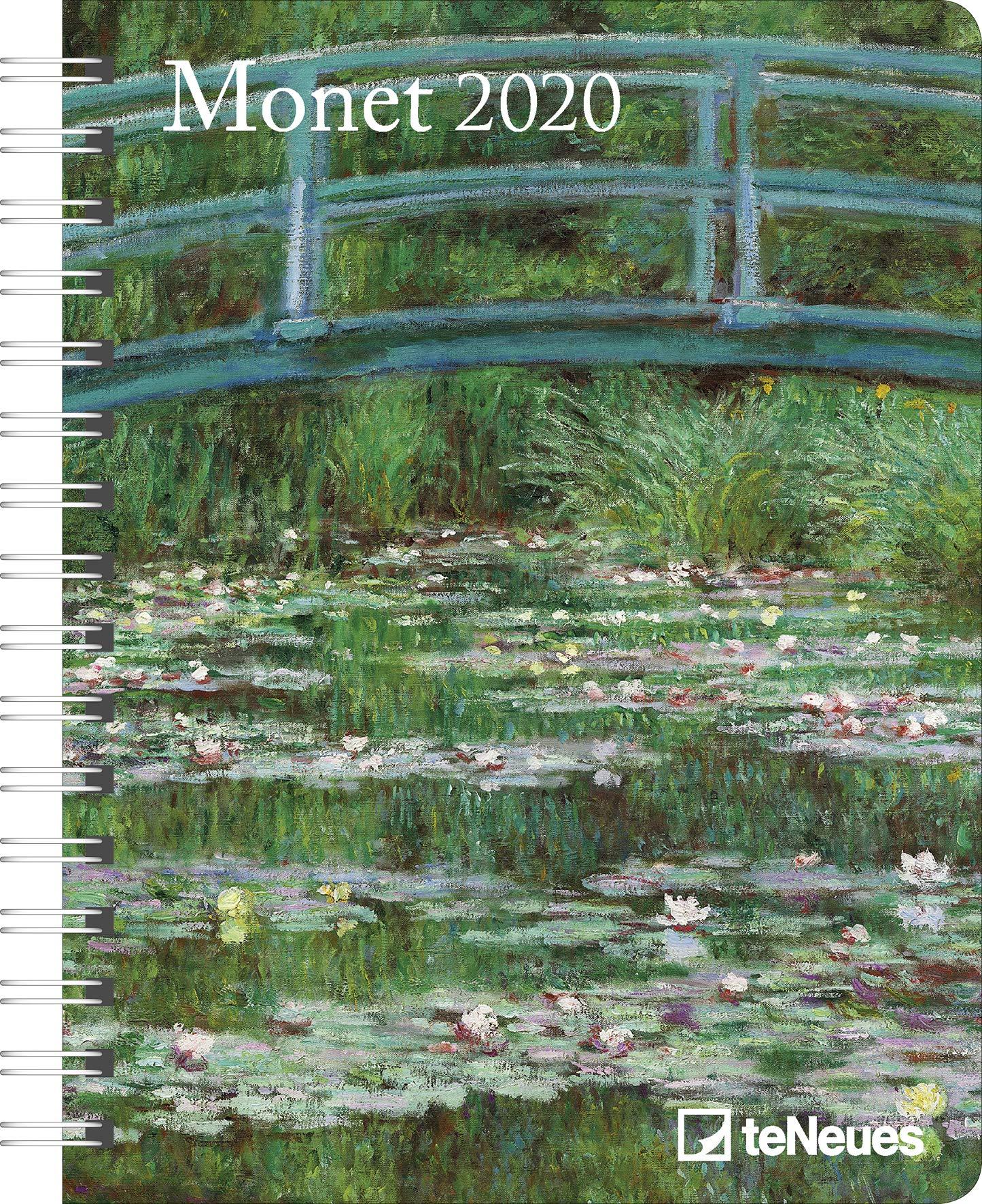 Monet 2020 Buchkalender Deluxe: Amazon.es: Claude Monet: Libros