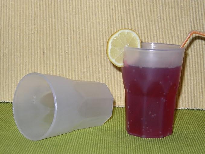 100 Mehrwegbecher Plastikbecher Cocktail Becher