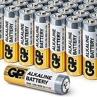 Piles AA Pack Economique par GP Batteries alcalines 1.5V AA haute performance (boîte de 32)