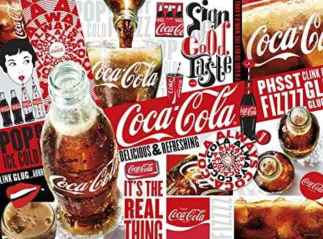 1000 Piece Jigsaw Puzzle 11271 Buffalo Games Coca-Cola Red White and You