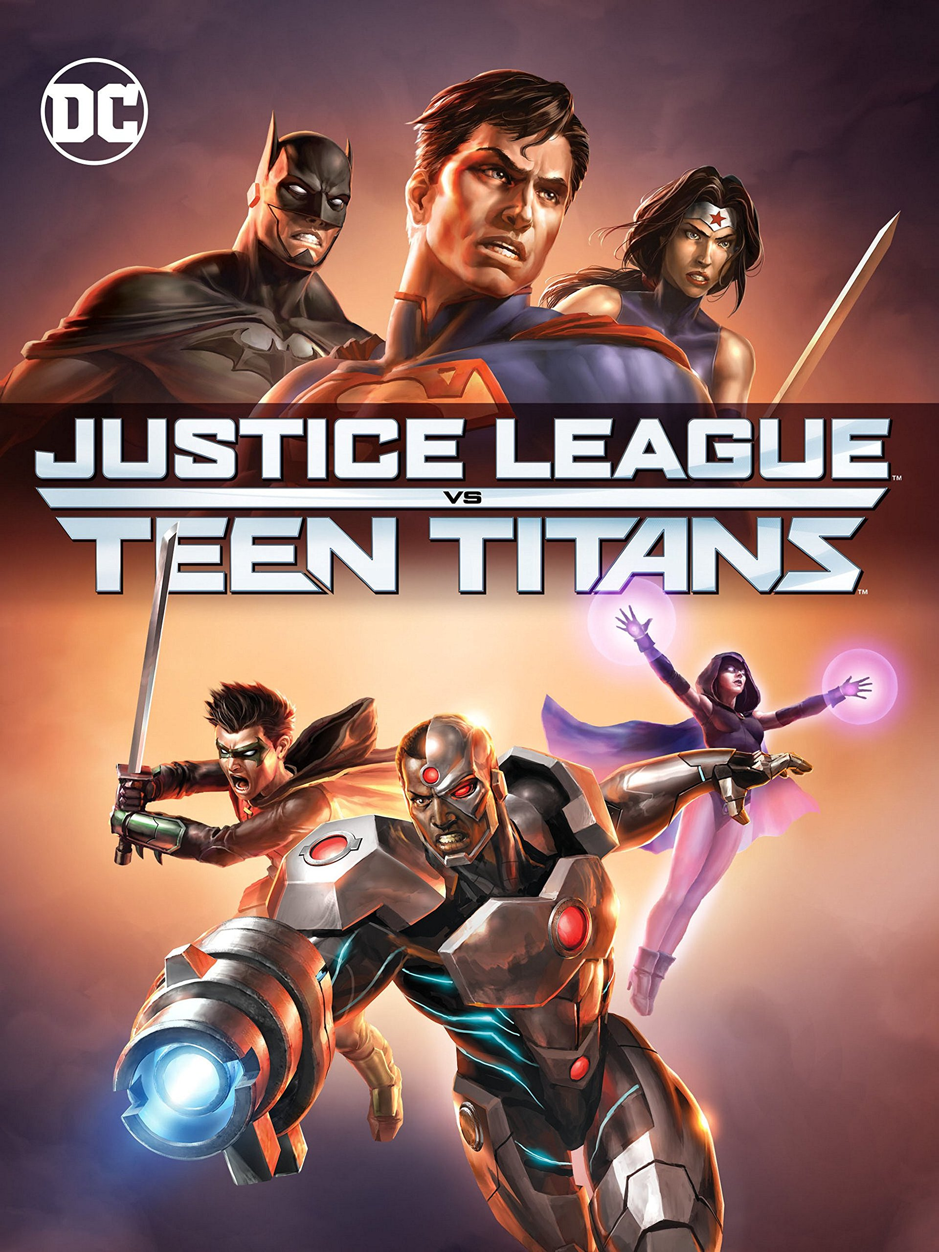 Amazon.com: Justice League vs. Teen Titans: Rosario Dawson ...