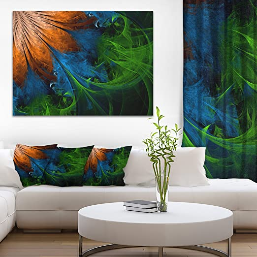 Poster D Wall Art Home Decor Decorative Fractal Art Print // Canvas Print