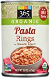365 Everyday Value, Organic Pasta Rings in Tomato Sauce, 15 oz