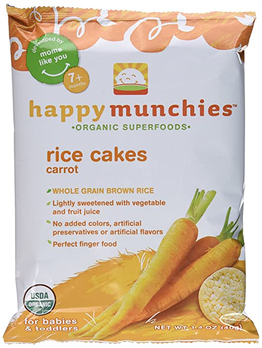 4 X 4 X 28g Products Hot Sale Organix Apple Rice Cakes Multi Bag