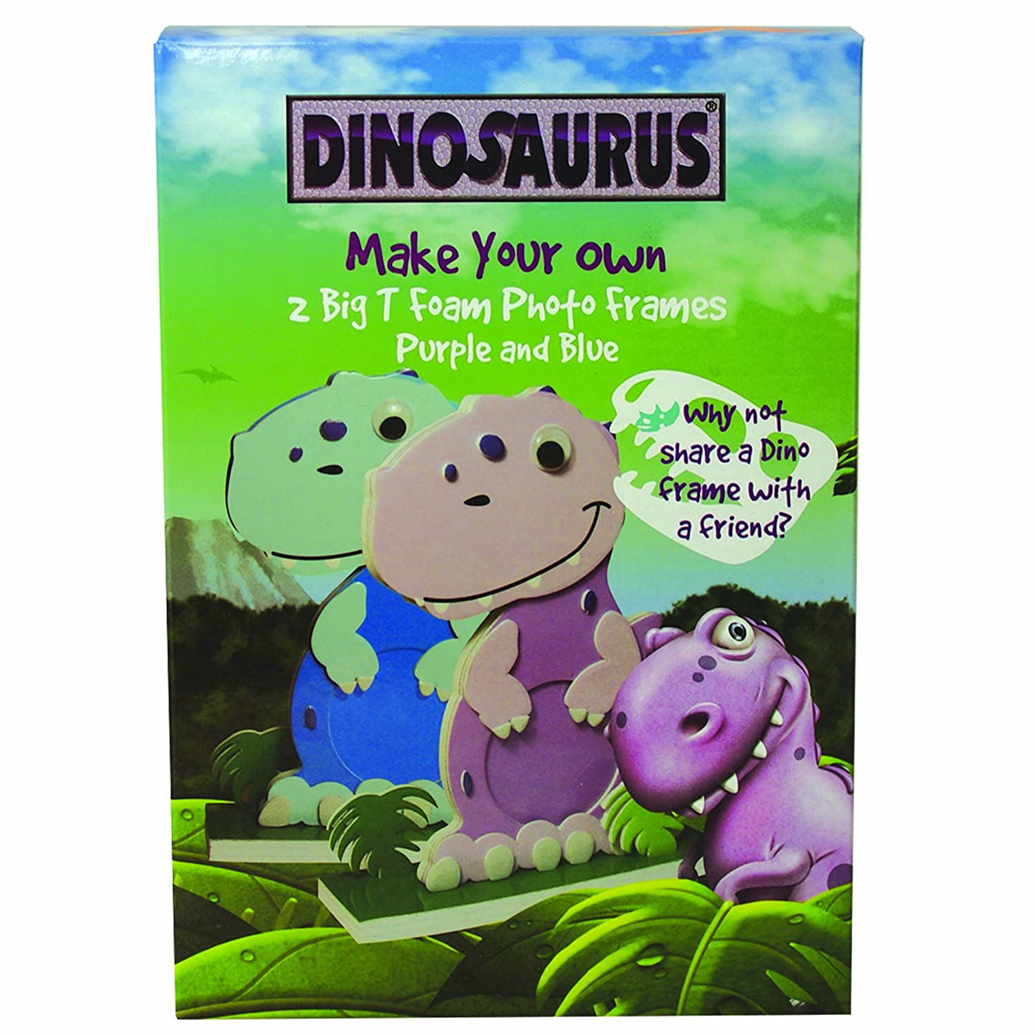 Dinosaurus Big T Foam Picture Frame: Amazon.co.uk: Kitchen & Home