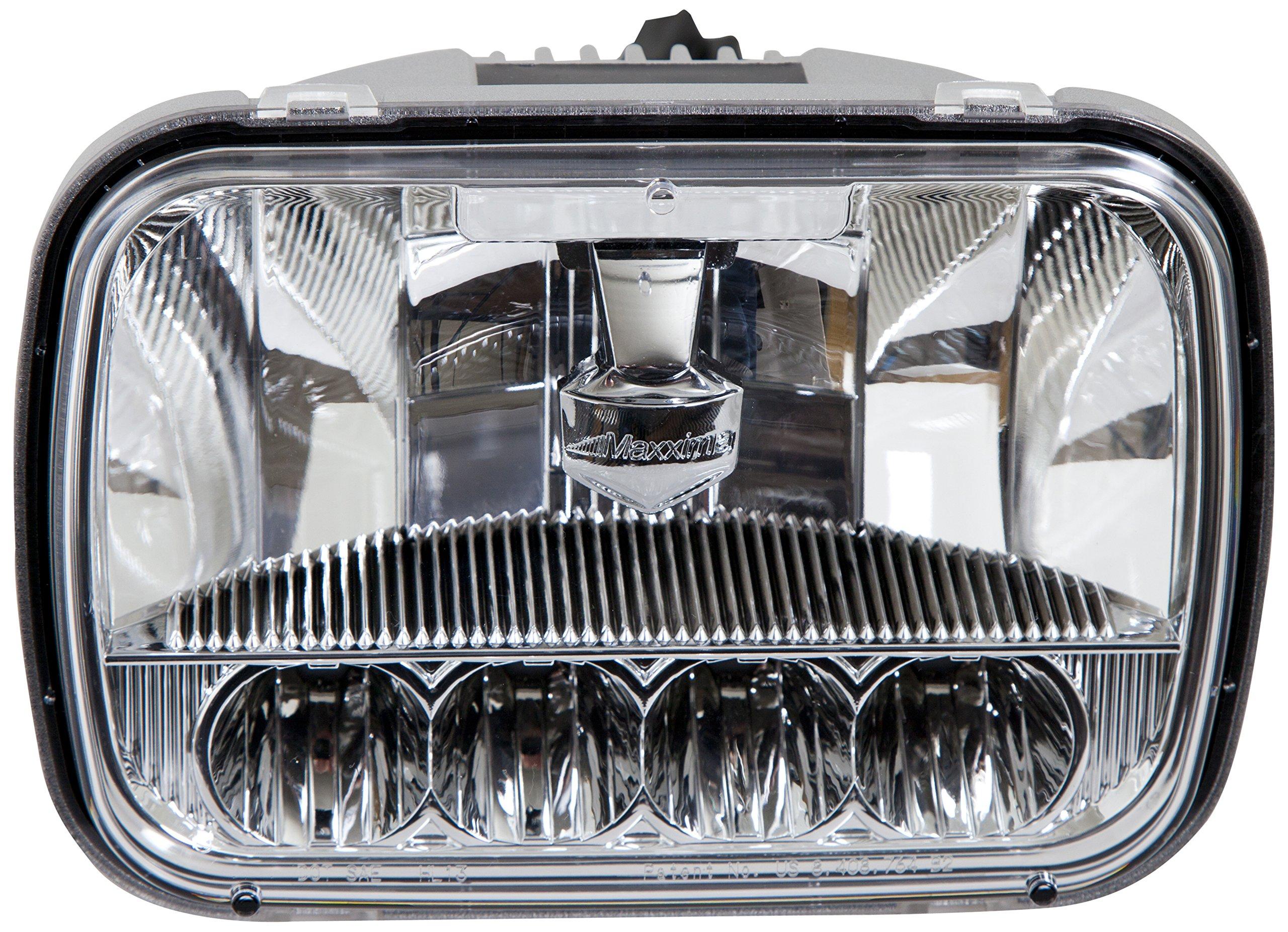 Maxxima MHL-5X7HILO 5 LED 5'' x 7'' Dual Beam LED Headlamp