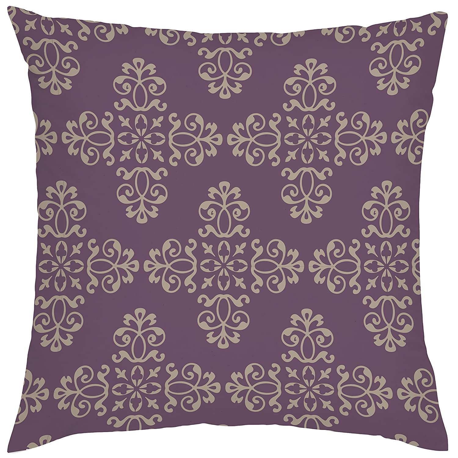 Ultra Violet 5pc Moroccan Prints Collection Outdoor Cushion Cover Sets Garden