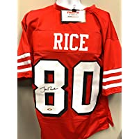 $125 » Jerry Rice San Fransico Signed Autograph Custom Shadow Jersey Tristar Authentic Certified