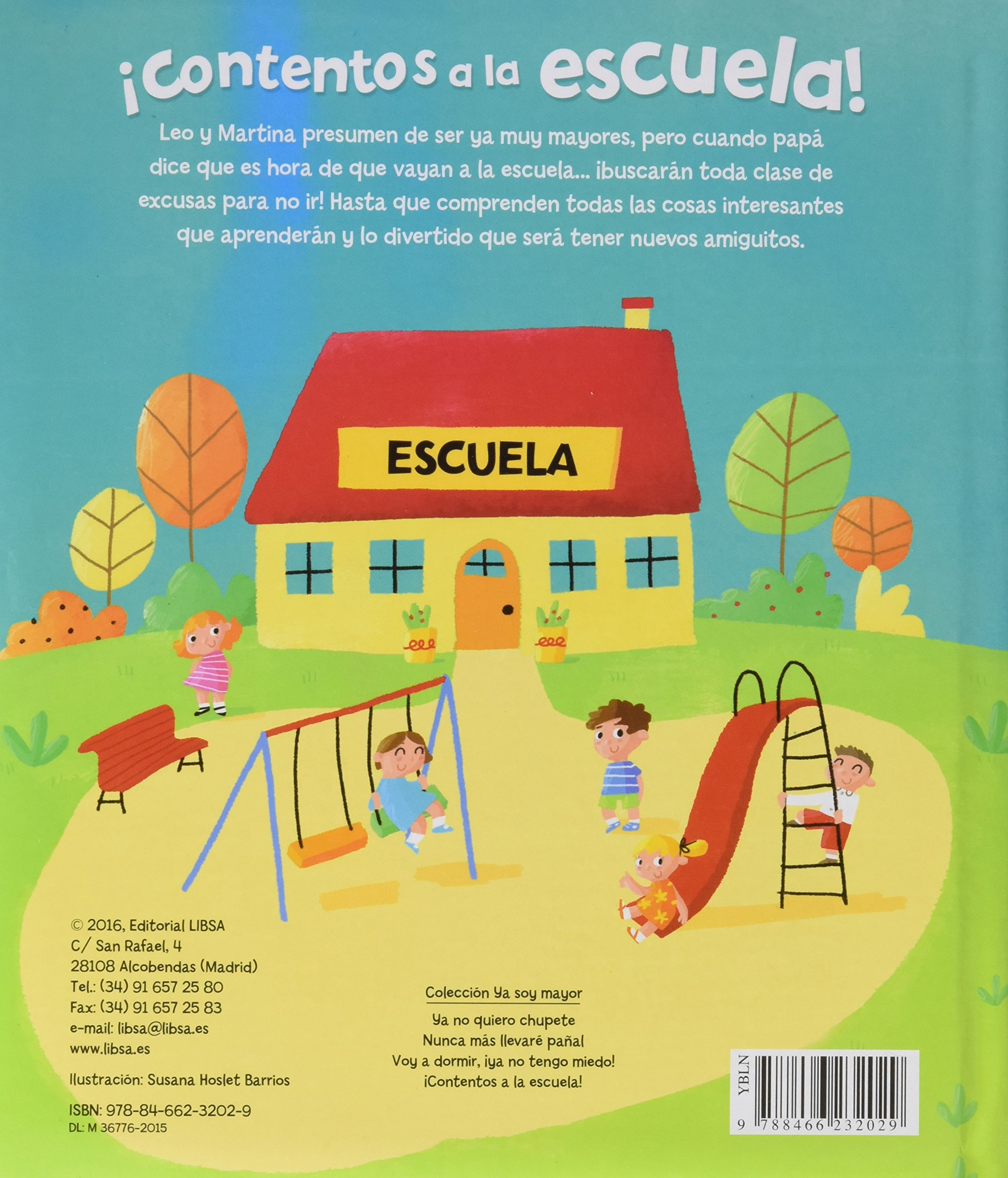 CONTENTOS A LA ESCUELA: Equipo Editorial: 9788466232029: Amazon.com: Books