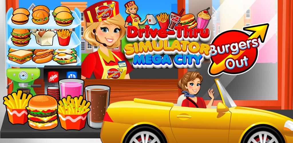 Drive Thru Simulator - Kids Mega City Fast Food Drive Thru ...