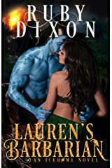 Lauren's Barbarian: A SciFi Alien Romance (Icehome Book 1) Kindle Edition