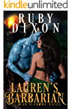 Lauren's Barbarian: A SciFi Alien Romance (Icehome Book 1) (English Edition)