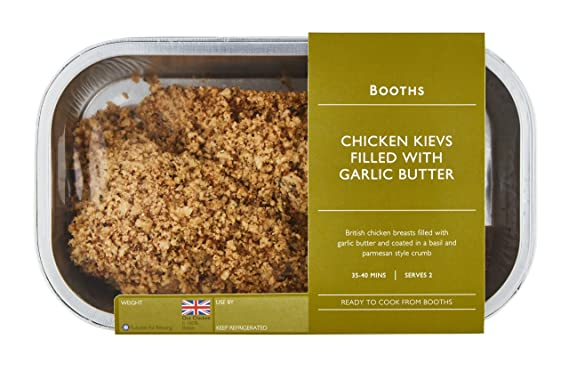 Booths Chicken Kievs Filled With Garlic Butter 400 G Amazon