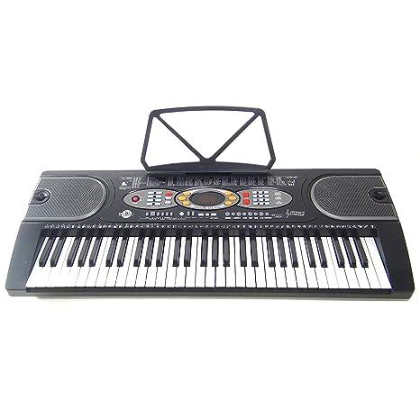 Teclado 61 teclas DynaSun MK2085 LCD USB Keyboard E-Piano Electronico Digital, Función de