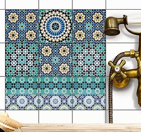 Stickers Design Piastrelle Decorazione D´interni   Piastrelle Adesive  Decorative Piastrelle Bagno   Adesivo