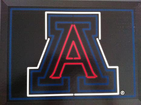 Amazon com: NCAA Arizona Wildcats LED/FX Edge Lit LED Bar