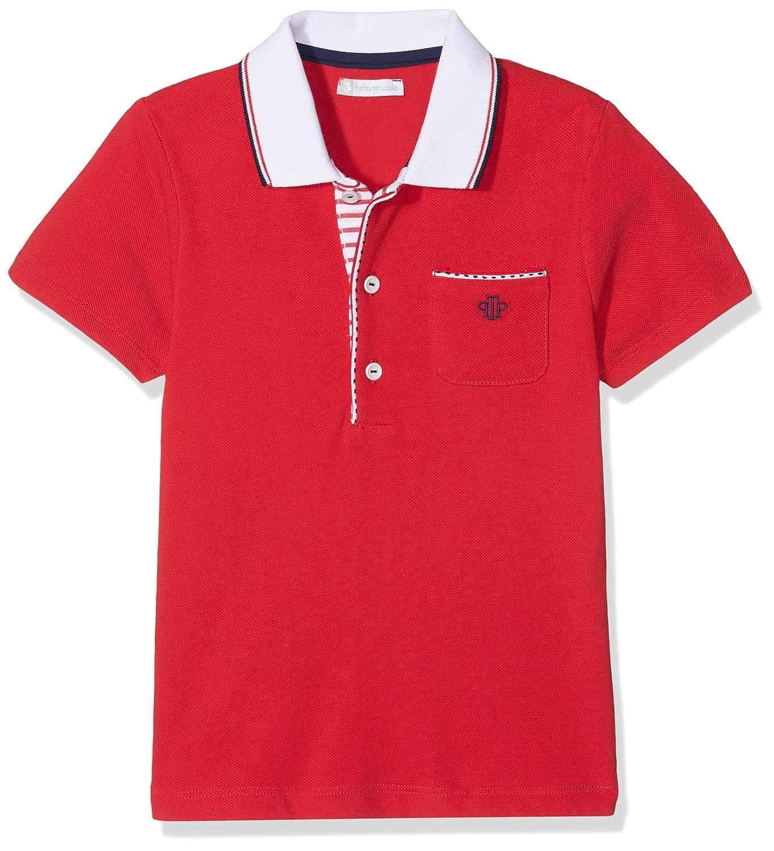 Tutto Piccolo 4814S18 Polo, Rojo (Red R00), 4 años (Tamaño del ...