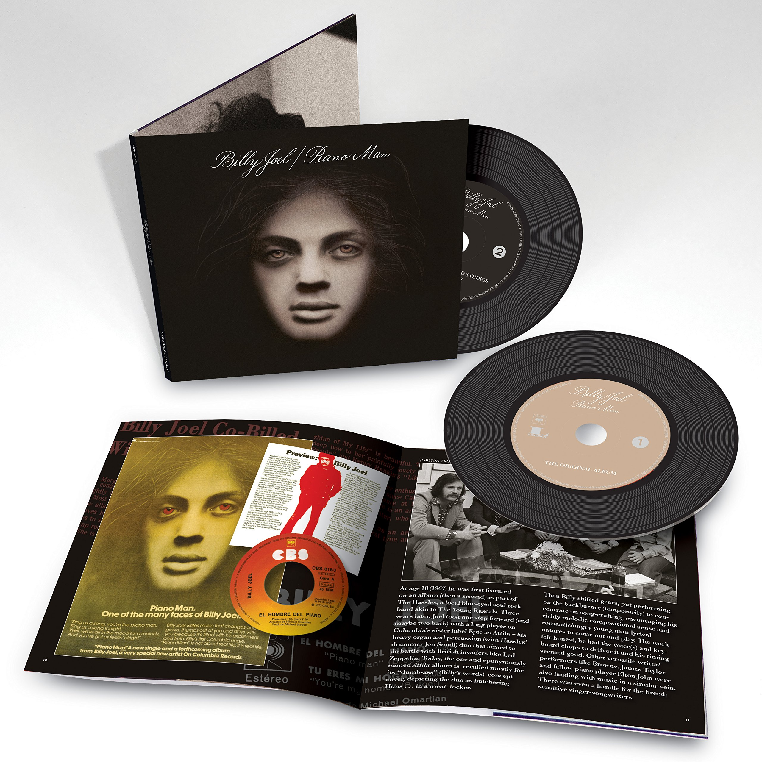 "IMWAN • [2017-11-10] Billy Joel ""Piano Man"" reformat of ... Billy Joel Piano Man Legacy Edition"