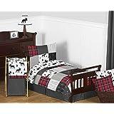 Amazon Com Carter S Wildlife 4 Piece Crib Bedding Set
