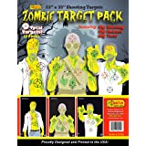 GunFun Zombie Target 9 Pack 23x35