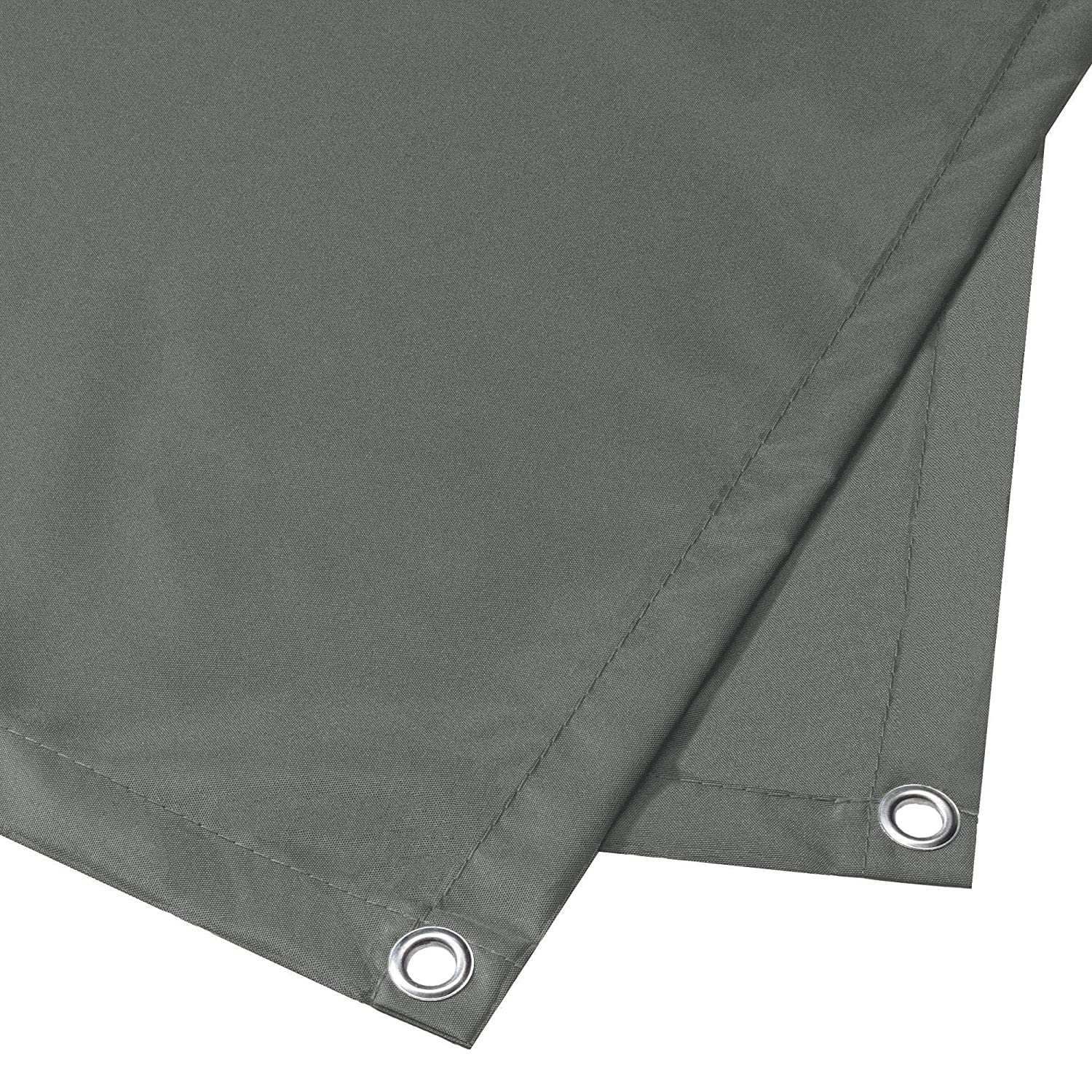 CelinaSun Privacy Screen 0.9 x 5 m Balcony Cover with Cable Ties Opaque Covering Panel