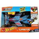 Hot Wheels Flipping Fury Two Cars in One Motorized Drive with Flipping and Race Action