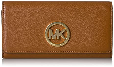 7bd1358aecacb8 Image Unavailable. Image not available for. Colour: Michael Kors Women's  Fulton Carryall Leather Wallet ...