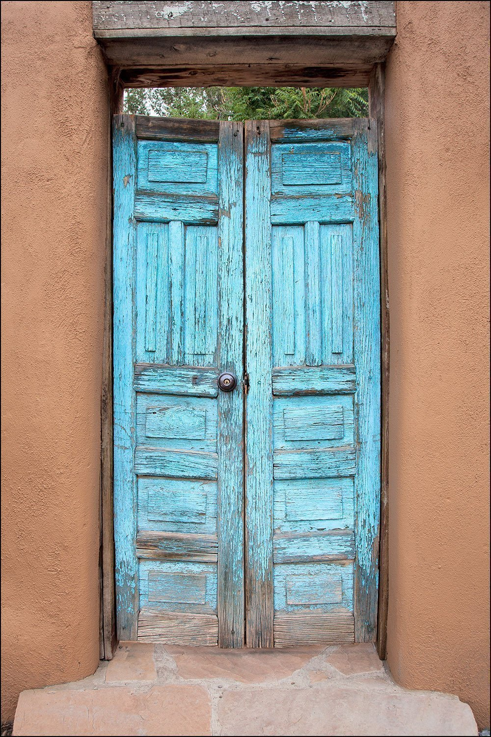 Amazon Com Photograph Of Colorful Blue American Southwest Architectural Wood Door Large Wall Art Decor Door Photography To Decorate Your Living Room Bedroom Kitchen Dining Room Hallway Or Office Handmade