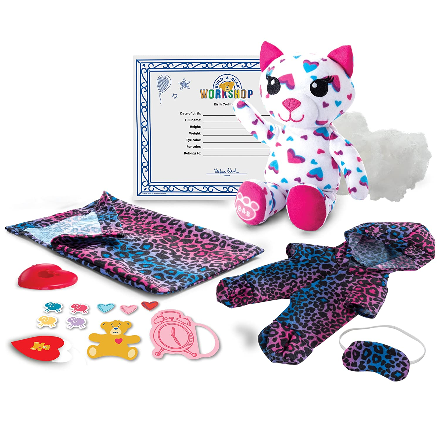 Build-A-Bear Workshop - Furry Fashions - Sleepy Kitty
