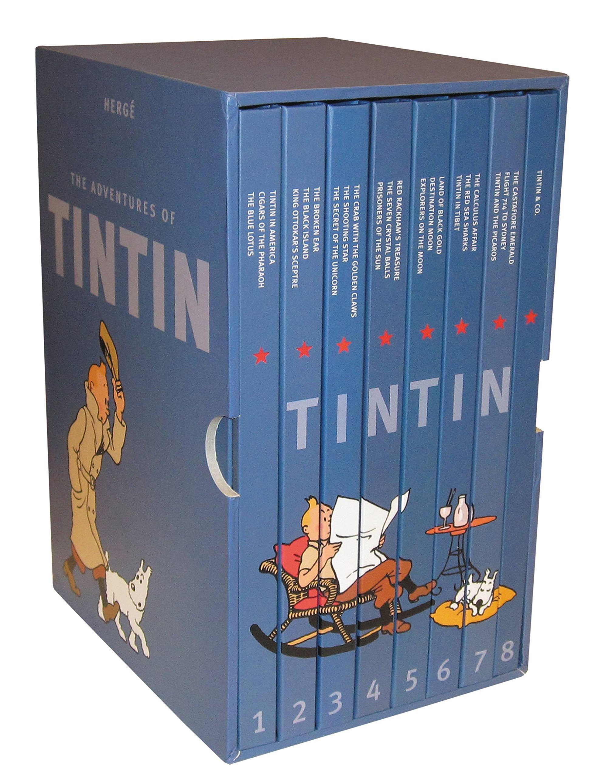 The Adventures of Tintin: Collector's Gift Set by Little, Brown Books for Young Readers