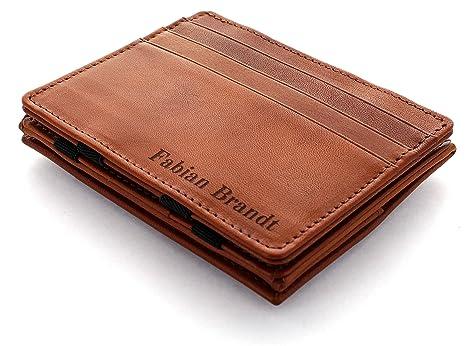 3a78d29d3e JAIMIE JACOBS ® Portafoglio Magico con Incisione, Magic Wallet Flap Boy -  l'Originale