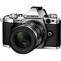 Olympus OM-D E-M5 Mark II Camera - Silver/Black (16.1 MP, M.Zuiko 12 - 50 mm Lens)