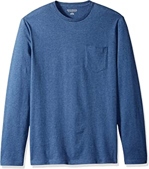 Amazon Essentials Men's Standard Slim-fit Long-Sleeve T-Shirt