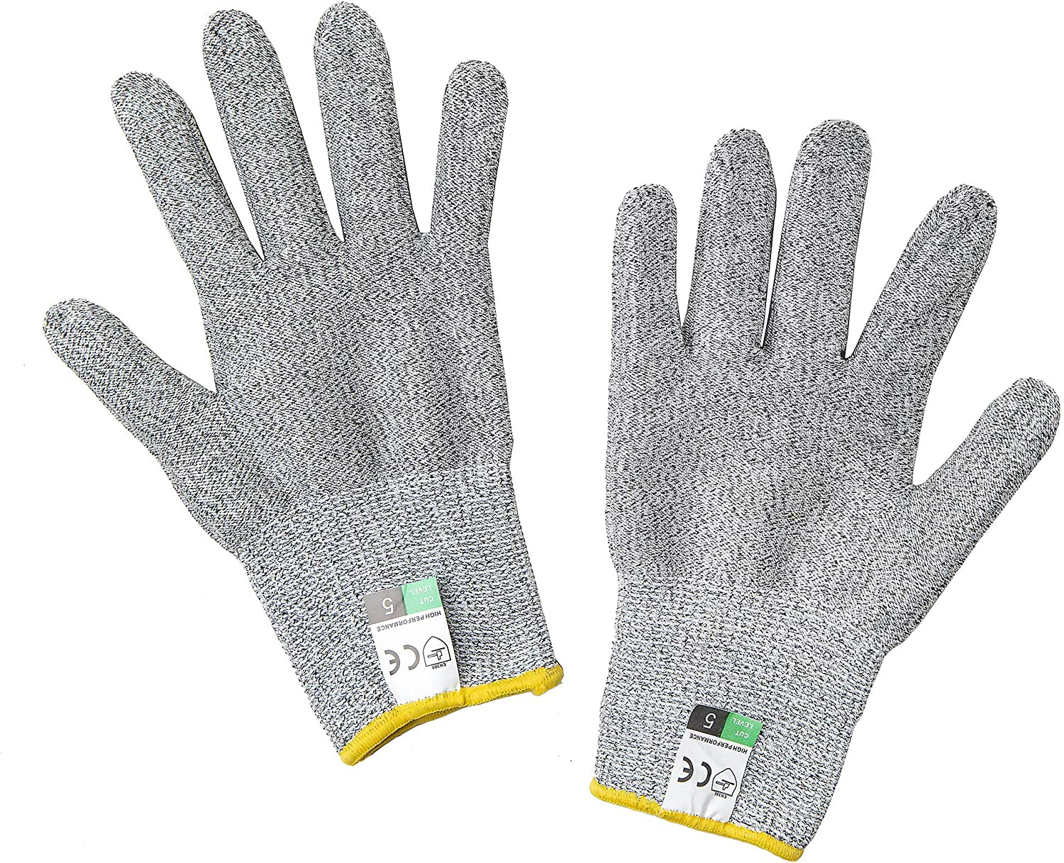 SYRATION Cut Resistant Glove - High Performance Level 5 Protection for Kitchen Cutting, Food Grade Safety Gloves for Cutting (Medium, 1 Pair Professional Glove)