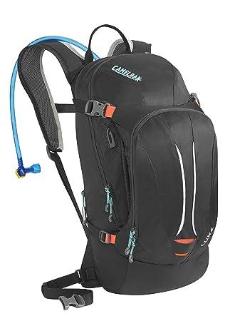 CamelBak Hydration - Pack y Bolsa de hidratación para Ciclismo, Color Gris (Charcoal/Fiery Coral), Talla Talla única: Amazon.es: Deportes y aire libre
