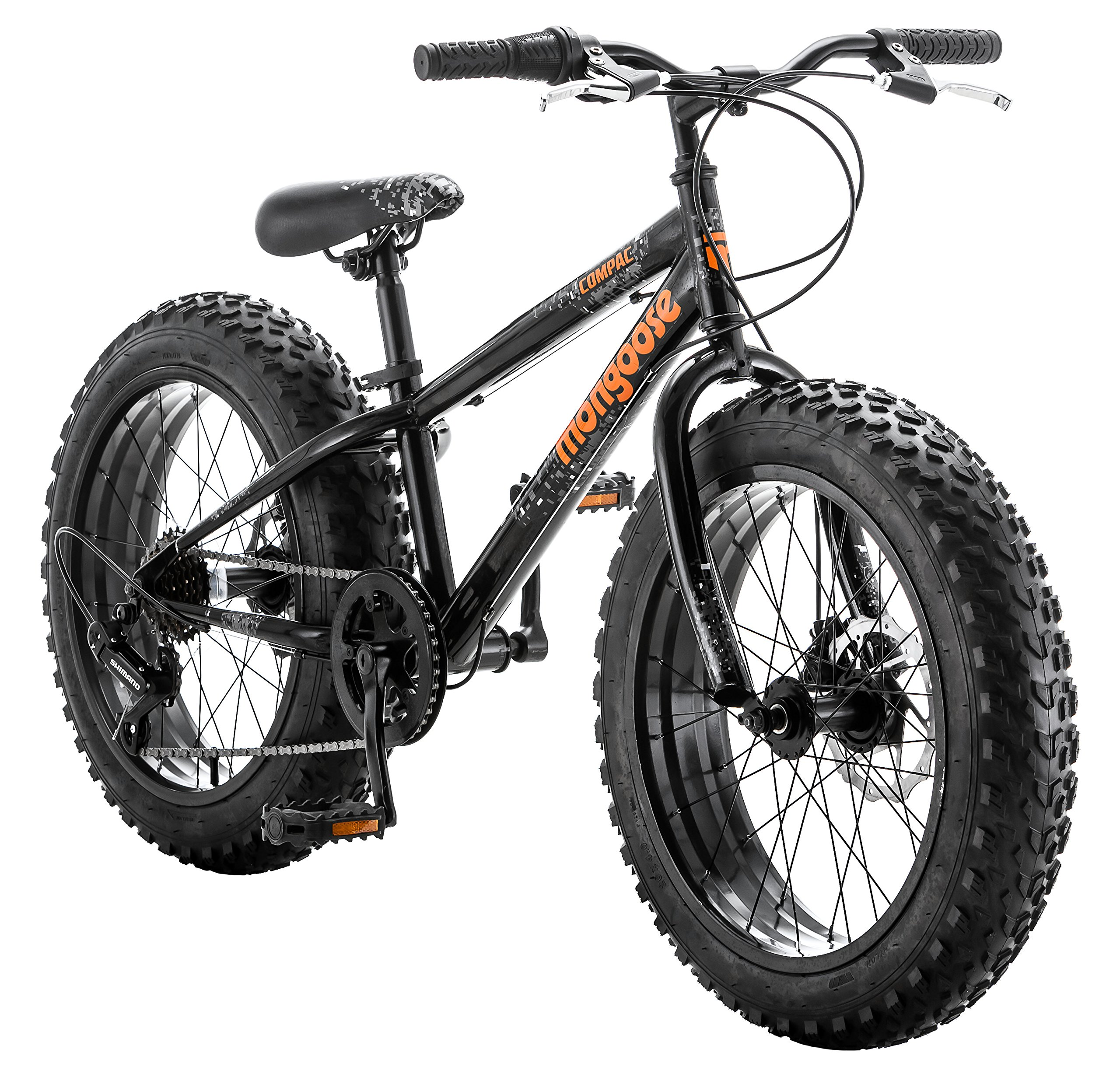 Mongoose Compac Boy's Fat Tire Bike, 20''