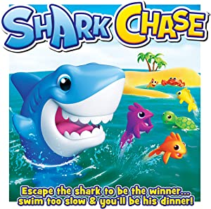 John Adams 10770 Pressmatic Game, Race, Shark, Chase, Multi