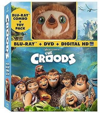 536d774272d2 Amazon.com  The Croods (Blu-ray   DVD + Digital Copy + Toy)  Nicolas ...