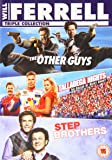 Will Ferrell Box Set: The Other Guys/Step Brothers/Talladega Nights [DVD] [2011]
