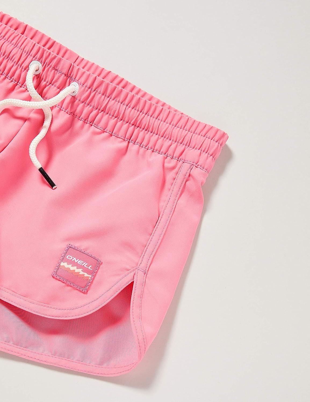 152 ONeill Girls PG Solid Beach Board Shorts EU Pink Lemonade