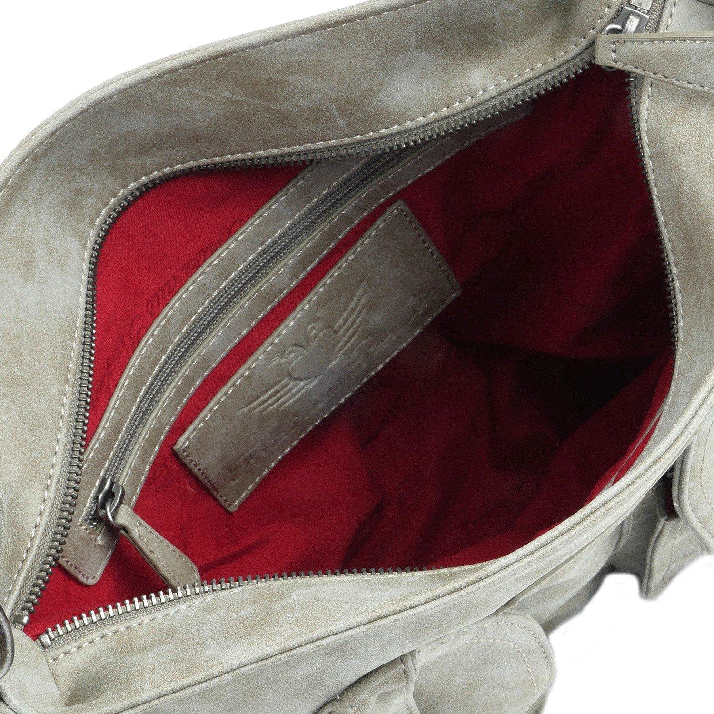 Fritzi av Preußen Jonna Vintage Shoulder Bag 44 cm Metal1