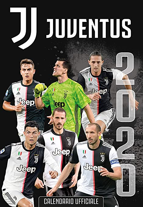 Juventus Calendar 2021 JUVENTUS 2020   official calendar (29x42): Amazon.co.uk: Sports