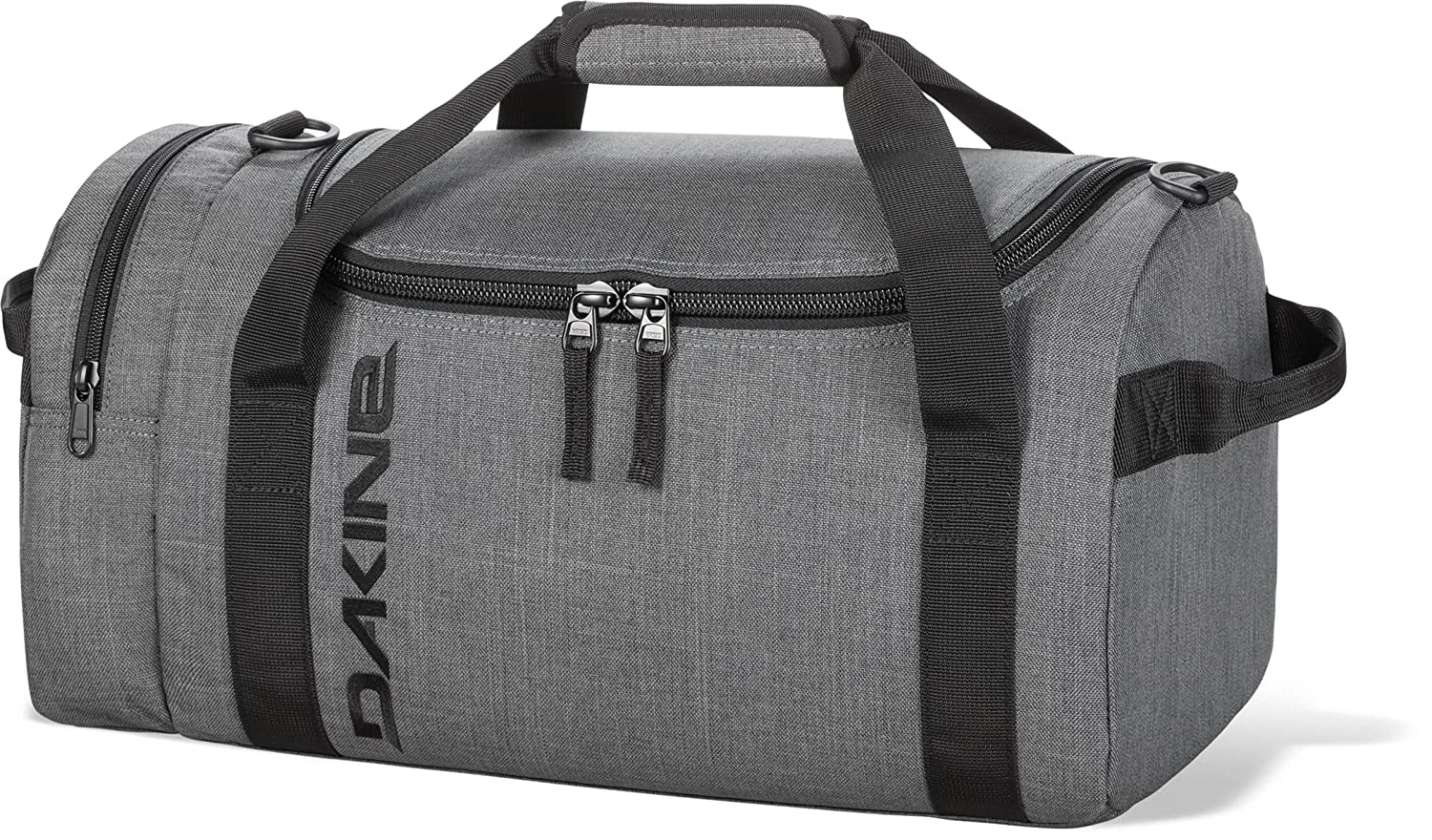 The Dakine EQ duffel was designed so it could double as a gym bag or  luggage. There are lots of different styles available. It even packs up  flat into its ... 25c726be0