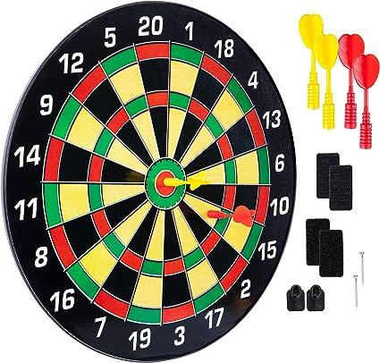 Children Safety Magnetic Dart Board Magnetic Darts Indoor Target Gift R3B0