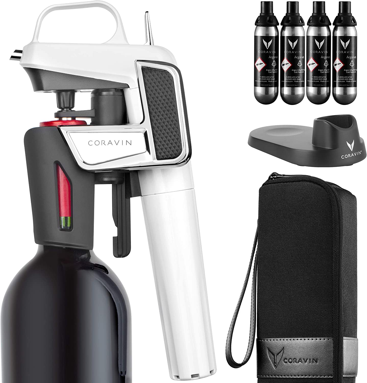 Coravin Model Two Elite Pro - Wine Preservation System, Gloss White