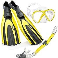 Mares Avanti Superchannel–Mask Fin Snorkel Set