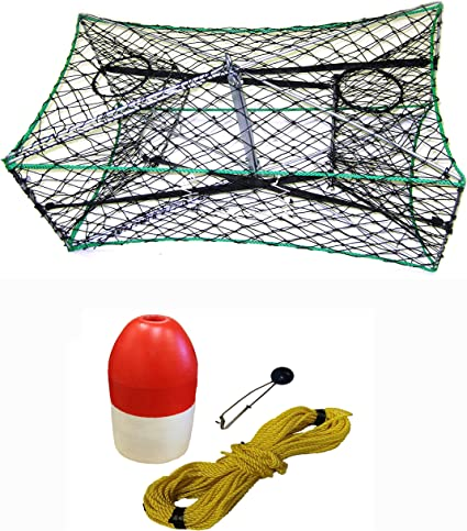 KUFA Sports 1//4 X 100 Poly Rope with Clip On Line