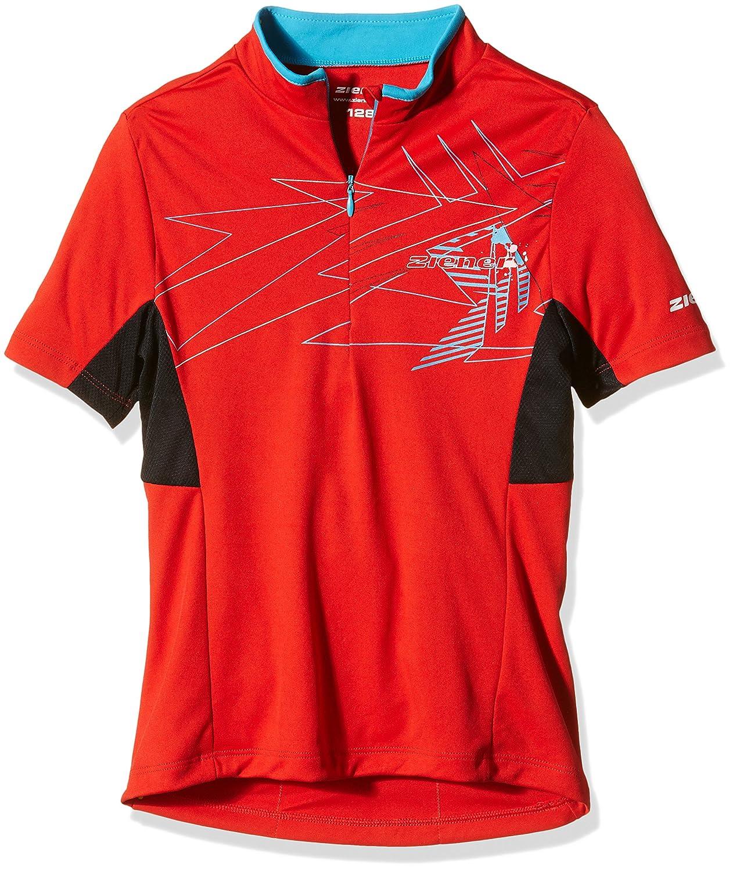 Ziener Children's Cycling Jersey Cersten, Children's, Biketrikot CERSTEN Children' s red 140 169513