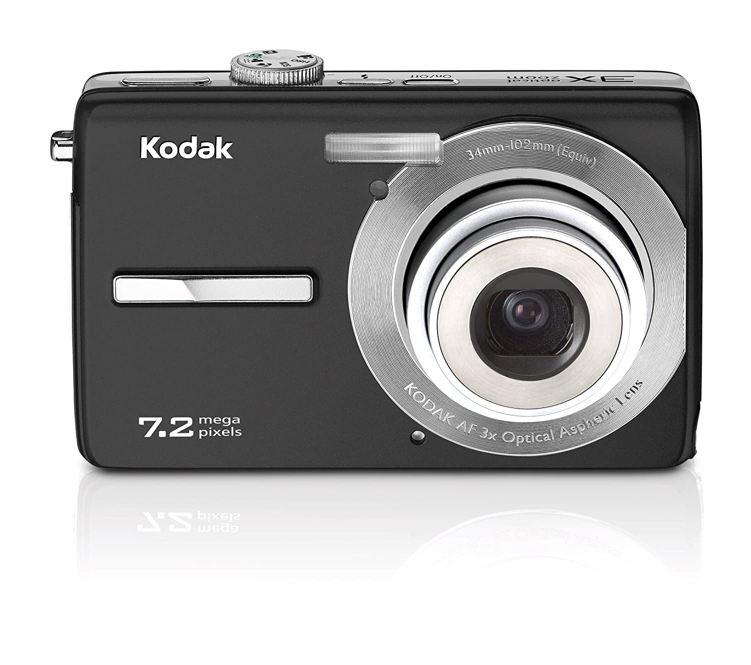 Amazon.com : Kodak Easyshare M763 7.2 MP Digital Camera with 3xOptical Zoom  (Black) : Point And Shoot Digital Cameras : Camera & Photo